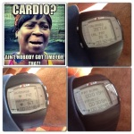 lol made time for cardio